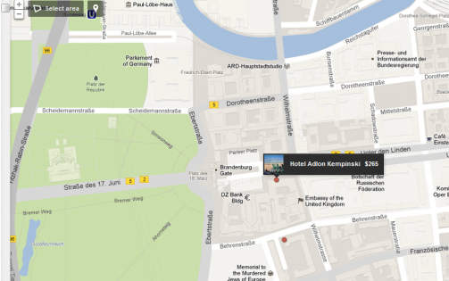 Google Hotelfinder Berlin